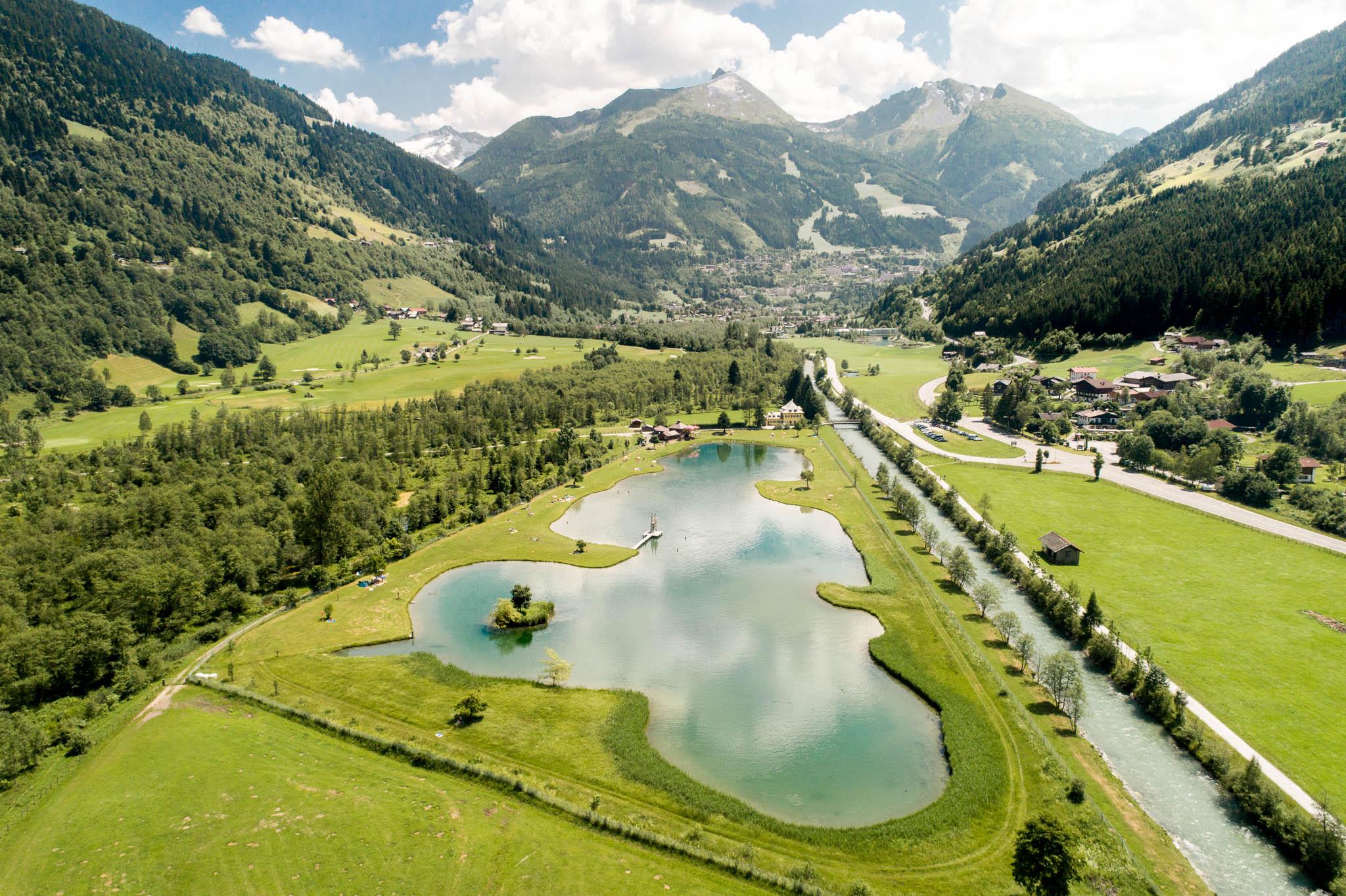 Badesee Gastein (c) Gasteinertal Tourismus GmbH, Ausweger (1) - Kopie